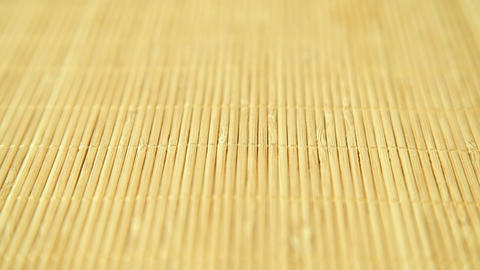 Traditional bamboo background Footage