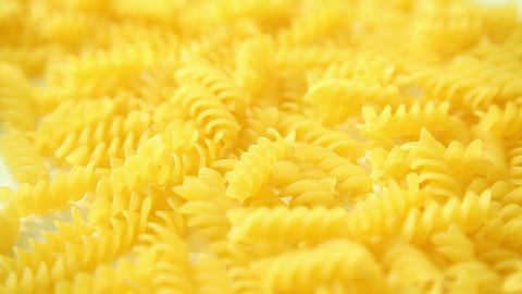 Italian pasta background Stock Video Footage
