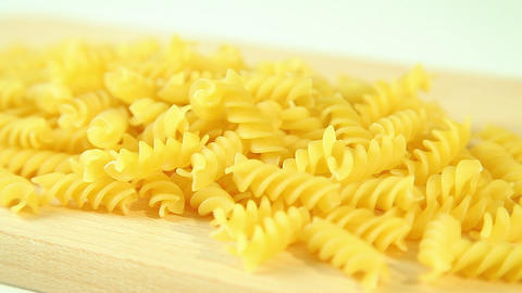 Italian Macaroni In Kitchen stock footage