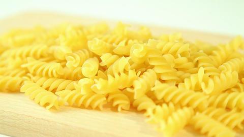 Italian macaroni in kitchen Stock Video Footage