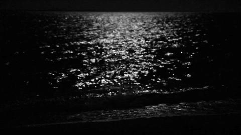 moonbeam in sea Footage