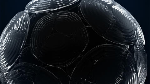 Abstract Glass Background Stock Video Footage
