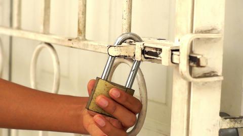 Door Lock Stock Video Footage