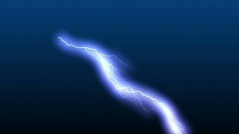 Lightning Thunderstorm stock footage
