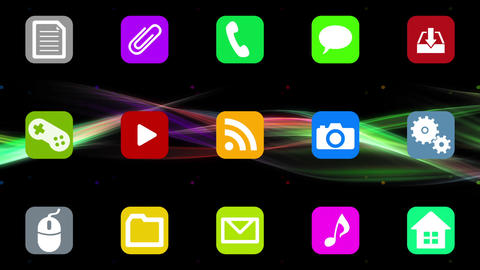 Smart Phone apps G Im 1 HD Stock Video Footage