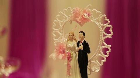 wedding cake Stock Video Footage