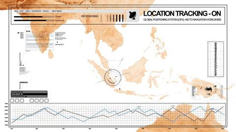 GPS Surveillance Stock Video Footage