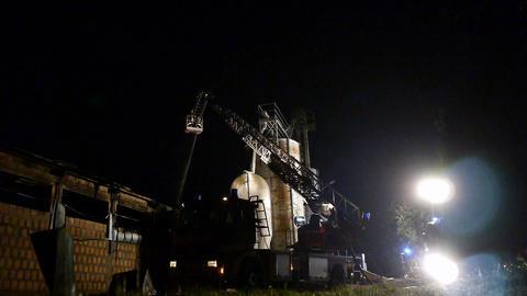 fire in breeding Stock Video Footage