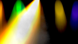 Colorful lights of light show Stock Video Footage