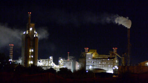 Chemical Factory Stock Video Footage