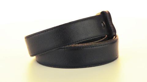 Leather belt Footage