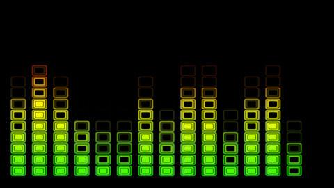 equalizer original seamless loop Stock Video Footage
