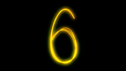light painting countdown Stock Video Footage