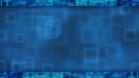 blue abstract loopable background flying squares Stock Video Footage