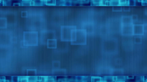 blue abstract loopable background flying squares Animation