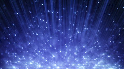 blue loopable motion background light beams and ri Animation
