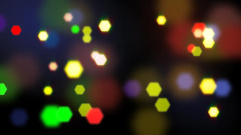 seamless loop blurred lights Stock Video Footage