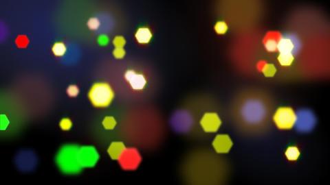 seamless loop blurred lights Stock Video Footage