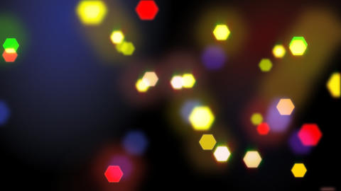 seamless loop blurred lights Animation