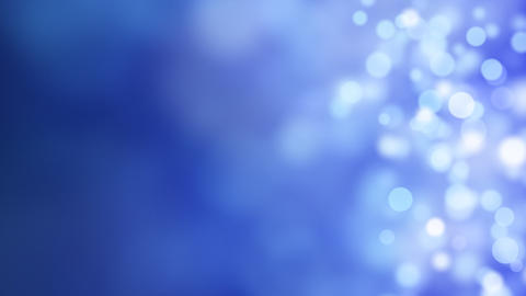 loopable abstract background blue bokeh circles Animation