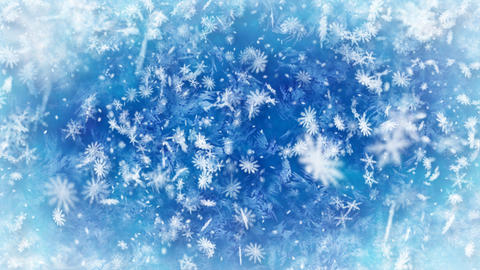 loopable snowfall wintry background Stock Video Footage
