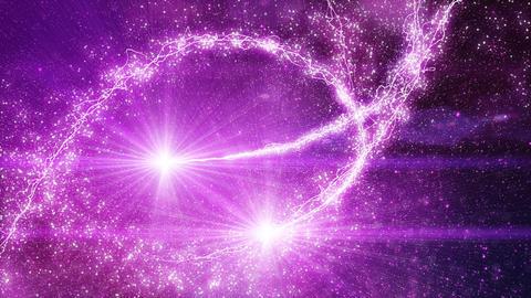 sparkles light flying fairy dust loop Stock Video Footage