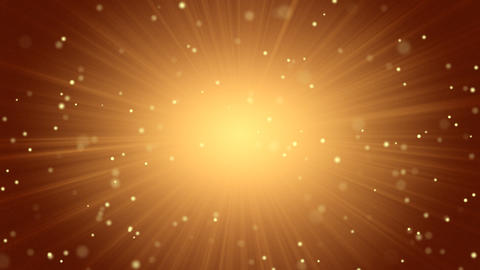 orange abstract background light beams and particl Stock Video Footage