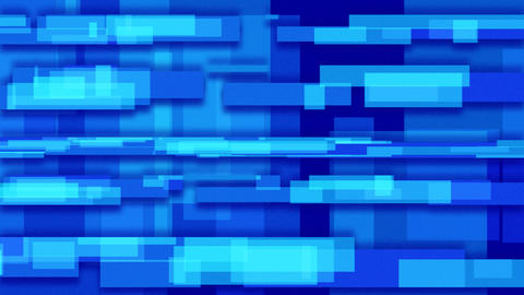 blue abstract loopable background rectangles Stock Video Footage