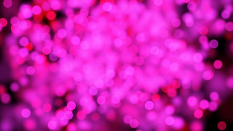 shining heart shape of pink particles loopable Stock Video Footage