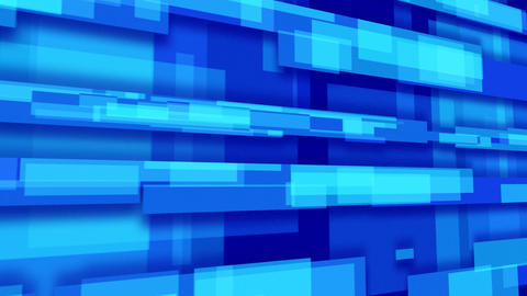 blue abstract loopable background rectangles persp Stock Video Footage