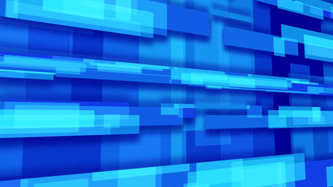 blue abstract loopable background rectangles persp Animation