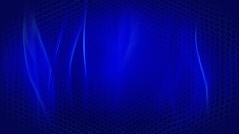 soft blue background flowing lines and hexagons lo Animation