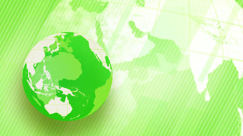 green background globe spinning loop, Stock Animation