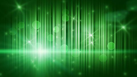 stars lights and vertical stripes green loop backg Stock Video Footage