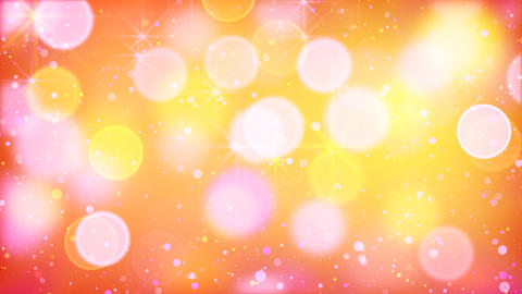multicolour bokeh lights particles and starglow lo Stock Video Footage