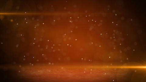 orange light beams and particles loopable backgrou Animation