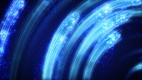 blue light streaks abstract loopable background Stock Video Footage