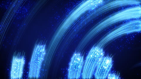 blue light streaks abstract loopable background Animation