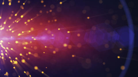 particles explosion background Stock Video Footage