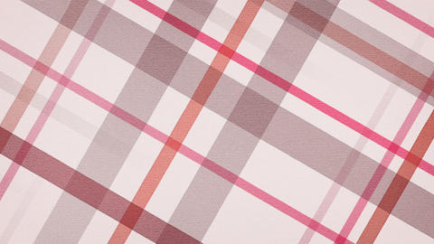 red checked fabric loopable background Stock Video Footage