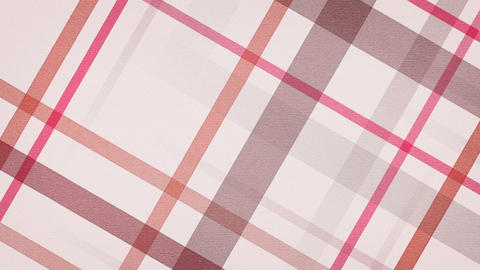 red checked fabric loopable background Animation