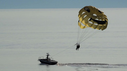 Paragliding 5 Stock Video Footage