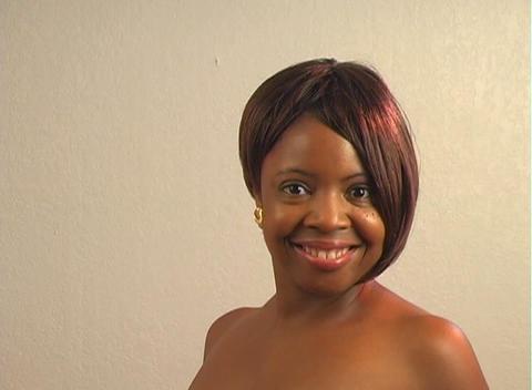 Beautiful Woman, close-up Stock Video Footage