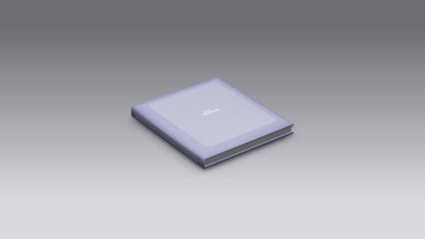 Photo Album Book 2 A bd HD Stock Video Footage