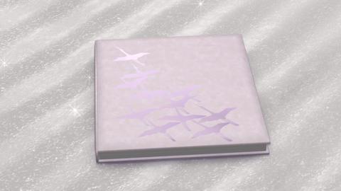 Photo Album Book A bd HD Stock Video Footage