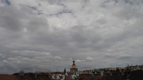 Timelapse clouds 01 Stock Video Footage