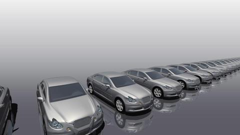 Car BG Sedan fw Stock Video Footage