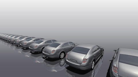 Car BG Sedan rw Animation