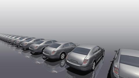 Car BG Sedan rw Stock Video Footage