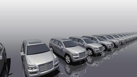Car BG SUV fw Stock Video Footage